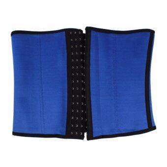 แผ่นรัดหน้าท้อง แบบตะขอ SIZE L/XL (สีน้ำเงิน) รุ่น SculptingClothes151-J1-L/XL