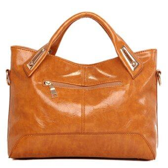 2559 นิวแฟชั่นกระเป๋าถือผู้หญิงกระเป๋าสะพายหนังแท้