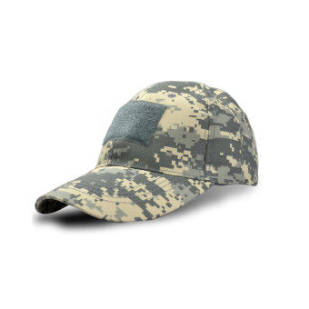 Harga Tactical Military Cap Camouflage Army Cap Combat Outdoor Sports Climbing Camping Hat ACU - Intl