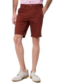 B&B menswear & Fashion กางเกงขาสั้น Chino (Brown)