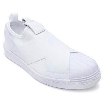 AIR MOVE รองเท้าผ้าใบผู้หญิง Superstar Slip on (White)