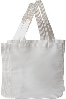 Felis Linn กระเป๋าผ้าดิบลายสอง x10