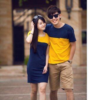 Cool Fashion ชุดเสื้อคู่รัก ใส่ชิว พรีเว็ดดิ้ง couple set04 CF-GWW0013Men