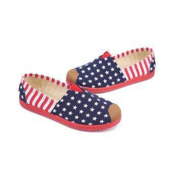 Marverlous Casual Flat Shoes Slip-ons รองเท้าผู้หญิง รองเท้าแฟชั่น รุ่น H-01