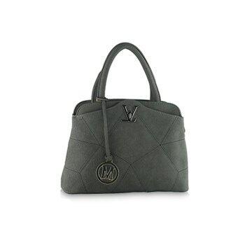 กระเป๋าถือ กระเป๋าสะพาย ผู้หญิง รหัส.9386 (สีเทา)