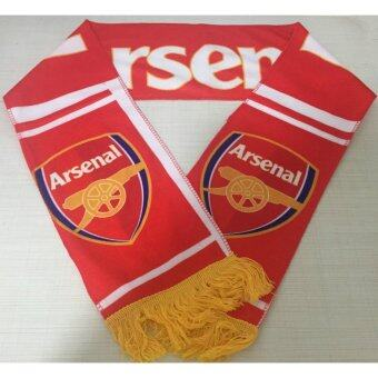 Harga Arsenal Football Club Soccer Scarf Neckerchief Fan Souvenir - intl