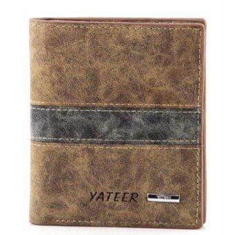 Matteo กระเป๋าเงินหนัง กระเป๋าสตางค์ 3 ชั้น รุ่น Yateer 2085