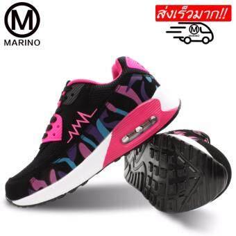 Marino รองเท้าผ้าใบ รองเท้าผ้าใบแฟชั่นผู้หญิง No.A020 – Rose