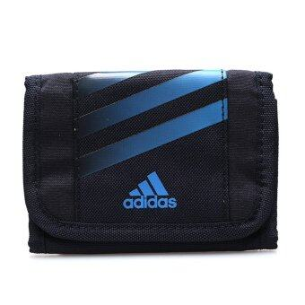 ADIDAS กระเป๋าสตางค์ รุ่น STRIPES WALLET - V87039-NS (BLUE/BLACK)