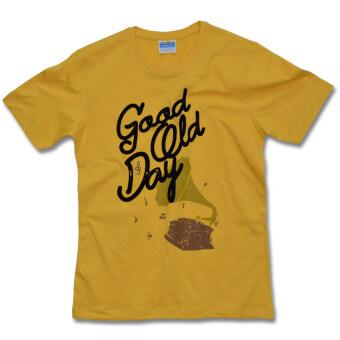 PIMNIYOM T-SHIRT เสื้อยืด คอกลม รุ่น P511 (Yellow)