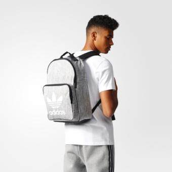 Adidas กระเป๋าสะพาย Casual Backpack Gray Color ขนาด30x44x16cm.