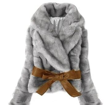 แฟชั่นเกาหลีร้อนขายกระต่ายขน Faux แจ็คเก็ตเสื้อนอกผู้หญิงผมสั้นนุ่มอุ่นทนกว่าคาดใหม่