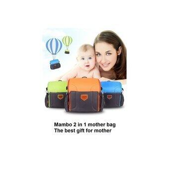 Harga Mambo Baby Bag / Mother Bag (Can convert to baby seat desk cot 2in1) - intl