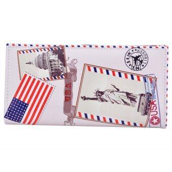 สตรีกระเป๋าสตางค์กระเป๋าถือหนังเทียมอังสาคลัตช์ (หลายสี)-ระหว่างประเทศ