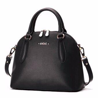 AXIXI กระเป๋าแฟชั่นสตรี รุ่น Black Curve สีดำ