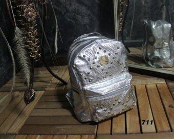 Platinum Fashion กระเป๋าสะพายหลังแฟชั่น ผ้าหนาดี ทน รุ่น711