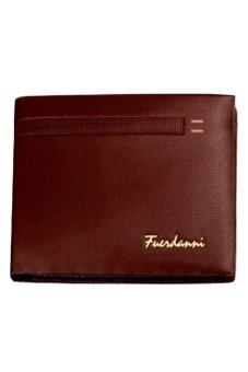 Matteo กระเป๋าเงิน กระเป๋าหนัง Fuerdanni Code 2004 - สีกาแฟเข้ม