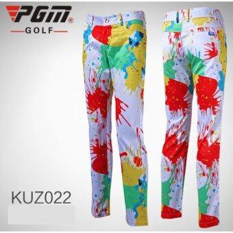 EXCEED LADY GOLF PANTS ( WHITE ) กางเกงกอล์ฟสำหรับสุภาพสตรี สีขาว KUZ022