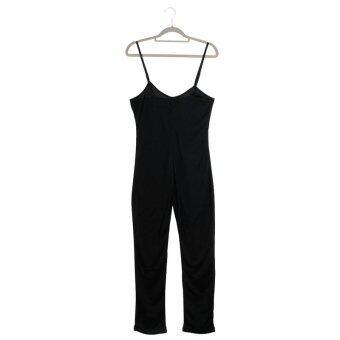 ผู้หญิงผู้หญิง Clubwear คอเปลี่ยนมาวี Bodycon พรรคเสื้อ และกางเกงผู้ทำเสียงอึกทึกครึกโครม (สีดำ)