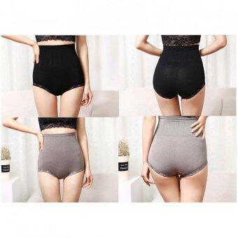 wenderful Magic Panty Collection Shape - กางเกงในเก็บหน้าท้อง Set 2 ตัว สี ดำ/สีเทา