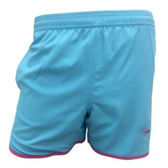 DUNLOP กางเกงเทนนิส DUNLOP LADIES SHORTS BLUE/PINK DAP16SW01D L