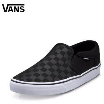 VANS รองเท้า แวน Canvas Shoe Asher Checkers VN000SEQ542 (2400)