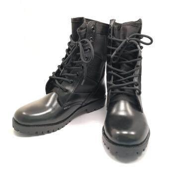 รองเท้าทหาร รองเท้าคอมแบท รองเท้า รด รองเท้าจังเกิ้ล หนังแท้