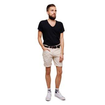 PHIL กางเกงขาสั้น รุ่น PP13SH001LBG - สีครีมอ่อน