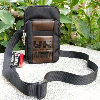 DAKAR Bag กระเป๋าสะพายใบเล็ก ผ้ากันน้ำ รุ่น DK001(สีดำ)