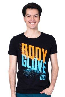 Harga Body Glove BG USA Tee Men (Black)