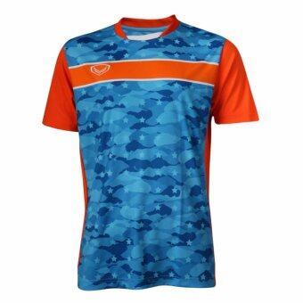 Grand sport แกรนด์สปอร์ตเสื้อฟุตบอล (สีฟ้า )