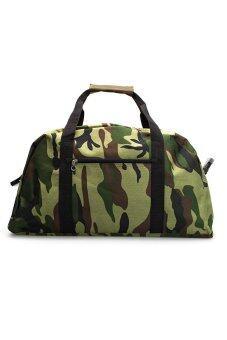 DM กระเป๋าเดินทาง ลายทหาร
