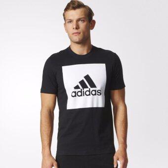 ADIDAS เสื้อ คอกลม อาดิดาส T-Shirt ESS Big logo Tee S98724 BK (890)