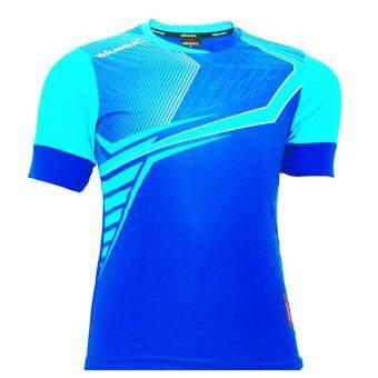 WARRIX SPORT เสื้อฟุตบอลพิมพ์ลาย WA-1513 (สีน้ำเงิน-ฟ้า)