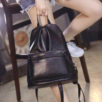 B'nana Beauty กระเป๋าเป้สะพายหลัง กระเป๋าเป้เกาหลี กระเป๋าสะพายหลังผู้หญิง backpack women รุ่น GB-15 (สีดำ)