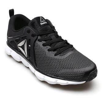REEBOK MEN รองเท้าผ้าใบ ผู้ชาย รุ่น HEXAFFECT RUN 5.0 MTM - 1-BD4700 (BLACK/WHITE/PEWTER)