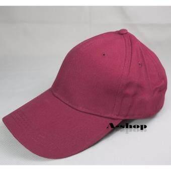 A-shop หมวกแก๊ป ผ้าสีพื้น หมวกแฟชั่น Hat0120-15