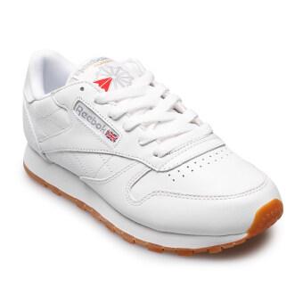 REEBOK WOMEN รองเท้าผ้าใบ ผู้หญิง รุ่น CL LTHR 0916 - 32-49801 (WHITE/GUM)