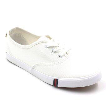 Air Move รองเท้าผ้าใบแฟชั่นผู้หญิง รุ่น B-6013 (White)