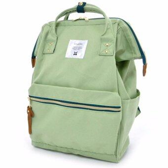 Harga ANELLO CLASSIC POLYESTER CANVAS RUCKSACK (LIGHT GREEN)