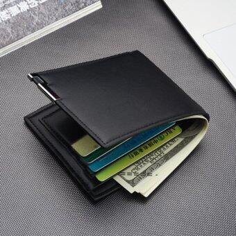 Siamcity mall กระเป๋า กระเป๋าสตางค์ กระเป๋าตัง กระเป๋าเงิน กระเป๋าใส่เงิน กระเป๋าใส่บัตร หนังกันน้ำ สีน้ำตาล ทรงสั้น wallet brown