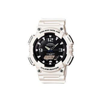 Casio Standard นาฬิกาข้อมือ Solar Power - รุ่น AQ-S810WC-7AV - White