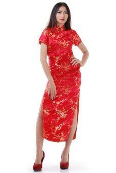 Princess of Asia กี่เพ้ายาว (สีแดง)