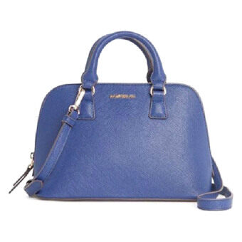 Harga MANGO Touch Tote Bag (Blue)