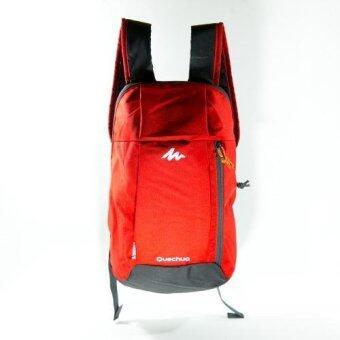 Mansomeguys กระเป๋าเป้จักรยาน เป้กันน้ำ สำหรับปั่นจักรยาน รุ่น Waterproof Bag Arpenaz Green สีส้ม Orange