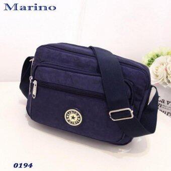 Marino กระเป๋า กระเป๋าสะพาย กระเป๋าสะพายผู้หญิง No.0194 - D.Blue