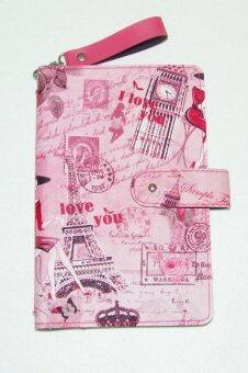 Finale by ideadec กระเป๋าใส่สมุดบัญชีธนาคาร Bookbank holder Paris