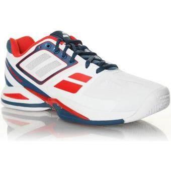 Babolat รองเท้าเทนนิส PROPULSE TEAM BPM JR WHITE (สีขาว