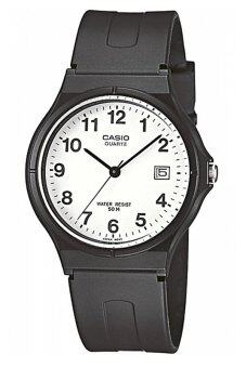Casio Standard Classic นาฬิกาข้อมือ สายเรซิ่น รุ่น MW-59-7BVDF - Black/White
