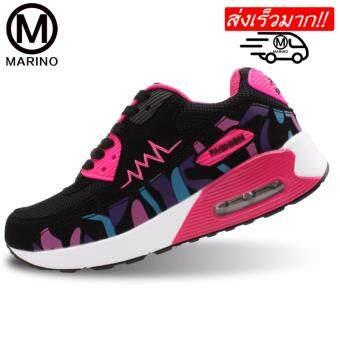 Marino รองเท้าผ้าใบ รองเท้าผ้าใบแฟชั่นผู้หญิง No.A020 - Rose